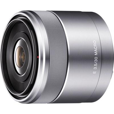 30mm f/3.5 Macro E-Mount Lens - OPEN BOX