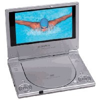 D1705 7inch Portabl DVD Player