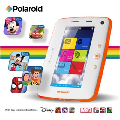 7` Kids Disney Tablet Dual Core HD with Bumpers & 70 Pre-Loaded Apps - OPEN BOX
