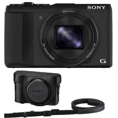 Cyber-shot DSC-HX50V 20.4 MP 30x Optical Zoom WiFi Digital Camera  - OPEN BOX