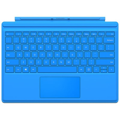 Surface Pro 4 Type Cover (Bright Blue)
