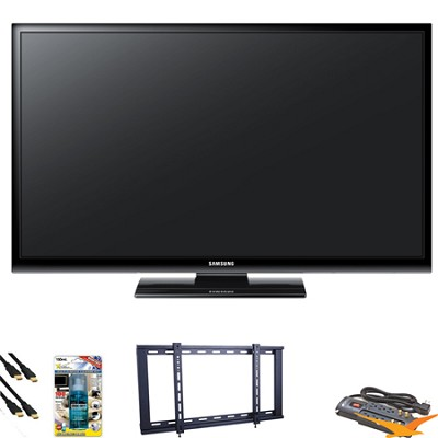 PN43E450 43 inch 720p Plasma HDTV Value Bundle