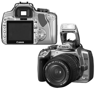 EOS Digital Rebel XTi (Silver) with EF-S 18-55mm II Kit