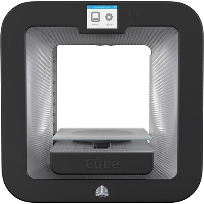 Cube 3D Printer Base - Grey - OPEN BOX