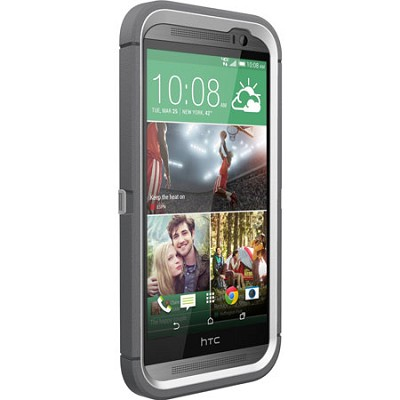 Defender Series for HTC One M8 - Retail Packaging - Glacier 77-38921