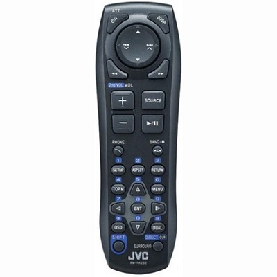 Optional Wireless Remote Control for JVC Audio/Video Receivers - RMRK252P