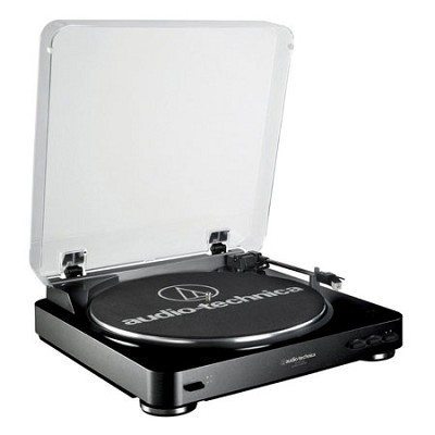 AT-LP60 Fully Automatic Stereo Turntable System- Black