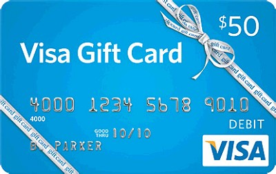$50 Gift Card (Allow 2-4 weeks for delivery)