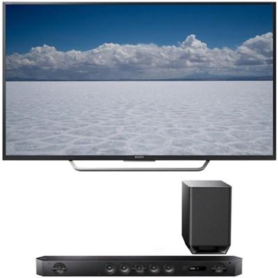 XBR-65X750D - 65` Class 4K Ultra HD TV w/ Sony HT-ST9 7.1 Channel Sound Bar