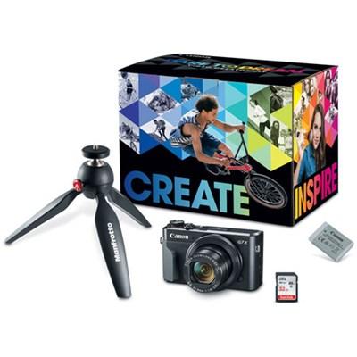 PowerShot G7 X Mark II 20.1MP Digital Camera Video Creator Kit #2