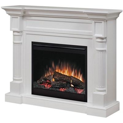 Winston Electric Fireplace - Mantel, White