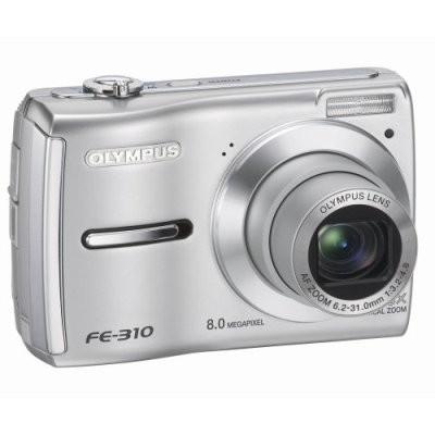 FE-310 8MP Digital Camera (Silver)
