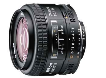 24mm F/2.8D AF Lens, With Nikon - REFURBISHED