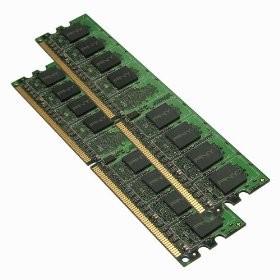 2GB Optima (2x1GB) Dual Channel Kit DDR2 667 MHz PC2-5300 Desktop DIMM Memory