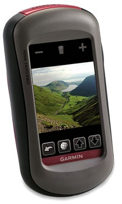 Oregon 550T, World Wide, Rugged 3` touchscreen with built-in 3.2 MP camera