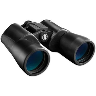 16x50mm Powerview BK-7 Porro Prism Rubber Armored Binoculars (Black) 131650C