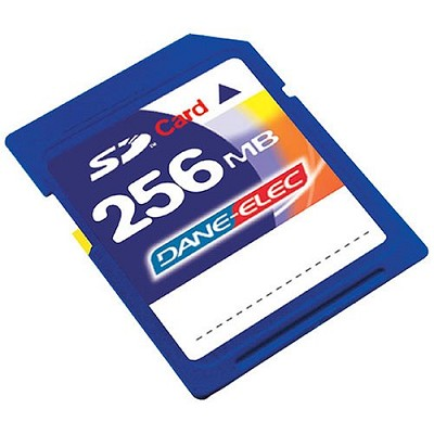 256MB SECURE DIGITAL {SD} MEMORY CARD ( A Necessity)