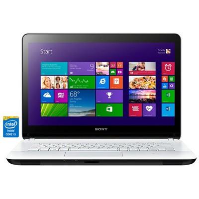 Fit 14E SVF14325CXW 14.0` Touchscreen White Notebook - Intel Core i5-4200U Proc.