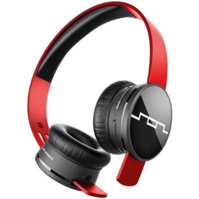 Tracks Air Wireless On-Ear Headphones (Vivid Red) - OPEN BOX
