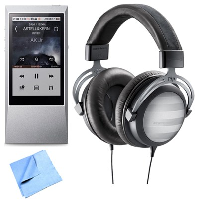 T5p Tesla Audiophile Headphone + Astell & Kern AK Jr. Hi-Res Music Player
