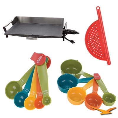 PCG-10 Professional Portable Nonstick Griddle - Bundle