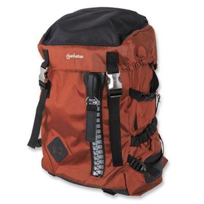 Zippack Sleeve in Orange Black for 15.6` Laptops Backpack - 439671
