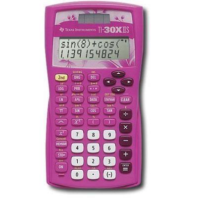 Scientific Advanced 2-Line Calculator in Pink - 30XIIS/TBL/1L1/AZ