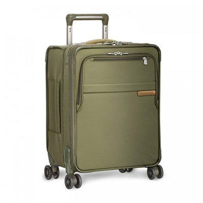 Baseline Collection 19` Commuter Expandable Luggage Spinner (Olive) - OPEN BOX