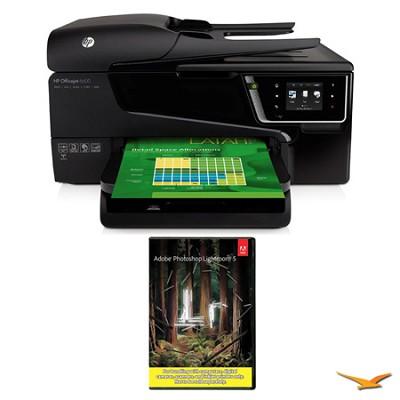Officejet 6600 e-AiO Printer with Photoshop Lightroom 5 MAC/PC