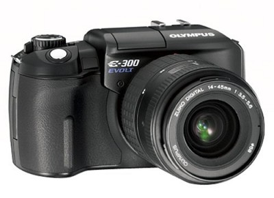 Evolt E-300 Digital SLR with Zuiko 14-45mm f/3.5-5.6 Lens Kit