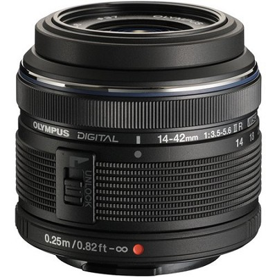 M.14-42MM F3.5-5.6 2R Zuiko Camera Zoom Lens - Black