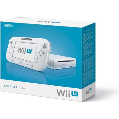 Wii U Console White Basic