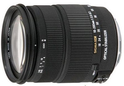 Wide Angle Zoom 18-200mm f3.5-6.3 DC OS (Optical Stabilizer) Lens for Nikon DSLR