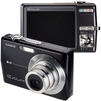 Exilim EX-Z600 Black 6MP Digital Camera
