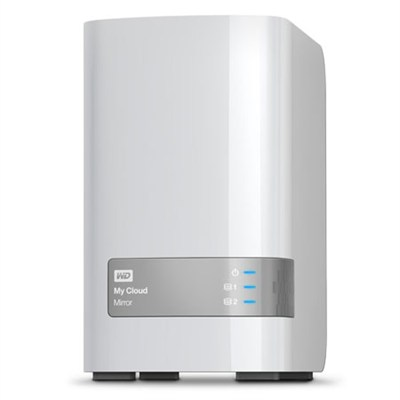 4TB WD My Cloud Mirror Personal Cloud Storage - OPEN BOX