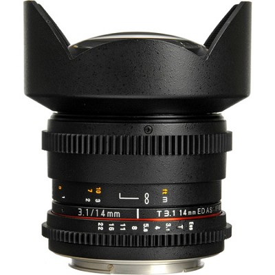 14mm T3.1 Cine Lens for Micro Four-Thirds Mount