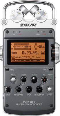 PCM-D50 Portable Linear PCM Recorder