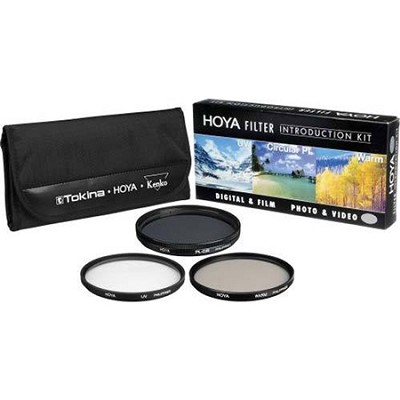 43mm Introductory Filter Kit (UV, Circ. Polar., Warming Filter & Wallet)