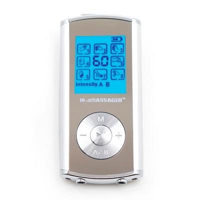 Pro IVS 8 Modes 2-Person Digital TENS Stimulator in Silver