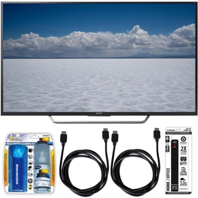 XBR-65X750D - 65` Class 4K Ultra HD TV w/ Essential Accessory Bundle