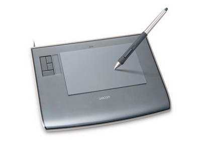 Intuous3 4x6 Wide Tablet w/Pen, Mouse and Software
