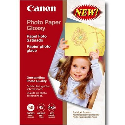 Photo Paper Glossy 4x6 in 50 Sheets (0775B021)