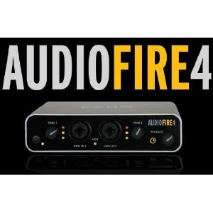 AudioFire4 6 Input/6 Output FireWire Audio Interface for Mac OS X and Windows XP