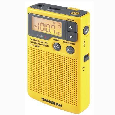 AM FM Aux weather alert Radio