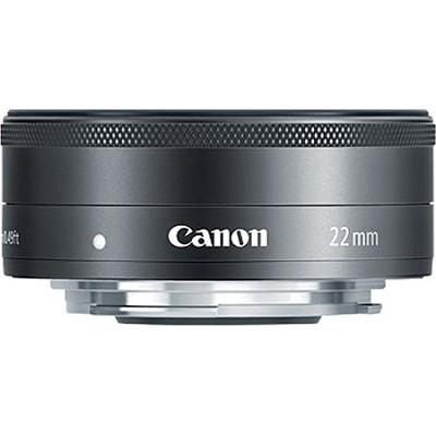EF-M 22mm f/2 STM Lens For EOS M Camera