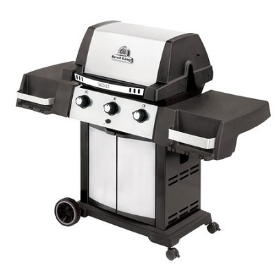 Natural Gas Grill, Stainless Steel/Black Signet 20 - 986557