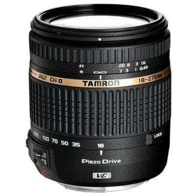 18-270mm f/3.5-6.3 Di II VC PZD Aspherical f/ Canon DSLR With 6-Yr USA Warranty
