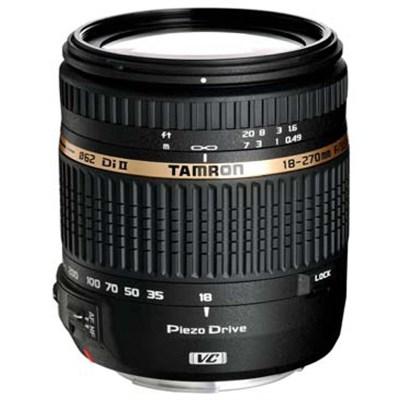 18-270mm f/3.5-6.3 Di II VC PZD Aspherical f/ Canon DSLR With 6-Yr USA Warranty