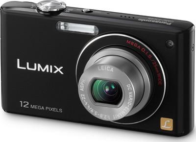 DMC-FX48K LUMIX 12.1 MP Compact Digital Camera with HD Movie (Black)(OPEN BOX)