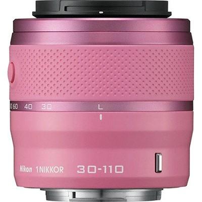 1 NIKKOR 30-110mm f/3.8 - 5.6 VR Lens Pink (Refurbished)